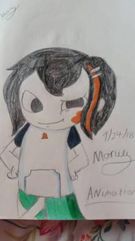 For Moruu Animation!! - Fan art