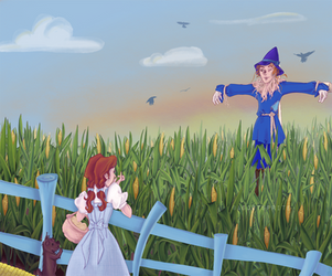 How Dorothy Saved The Scarecrow by asootsprite
