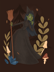 Elphaba by asootsprite