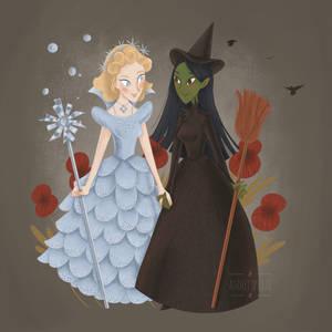 Elphaba + Glinda