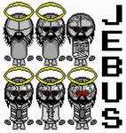 JEBUS. | Sprite Sheet.