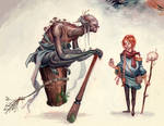 Vasillisa and the Baba Yaga