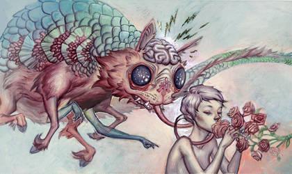 Grotesque animal.... by Biffno