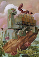 'Menagerie' Series: Tortoise by Biffno