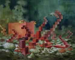 'Menagerie' Series: Octopus