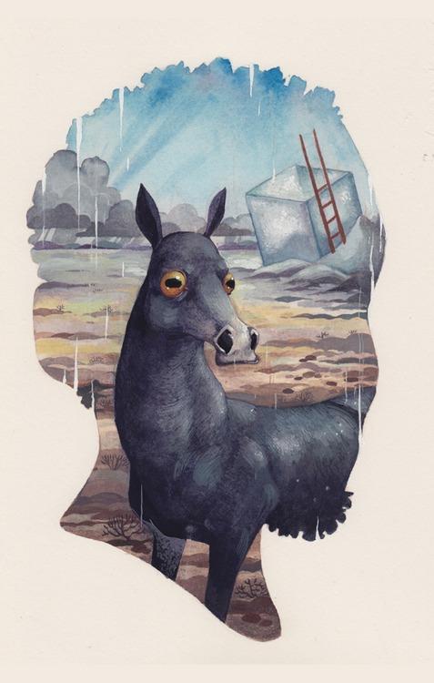 portrait #2 by Biffno