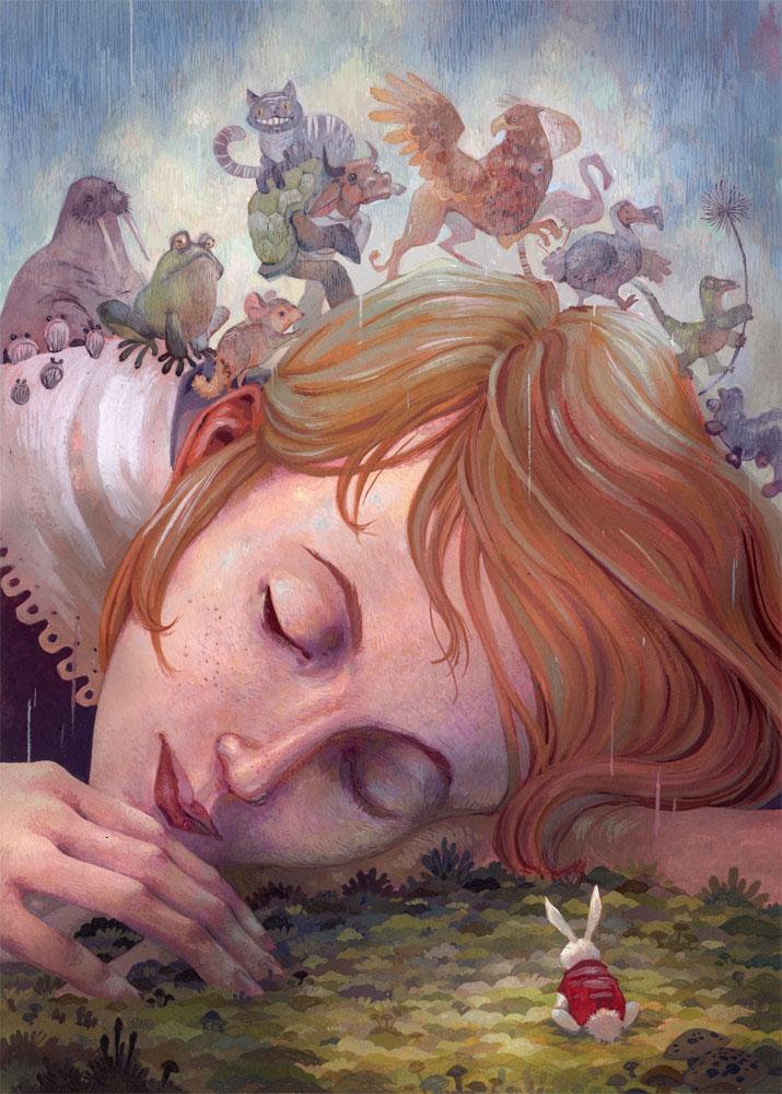 Alice Dreams by Biffno