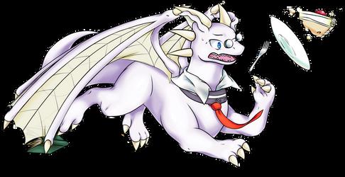 Wistful Nerdragon Remy (March drawing)