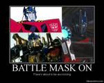 Optimus Prime Battle Masks
