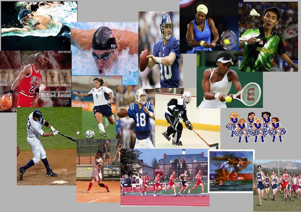 collage sports team spirit deviantart incorporating