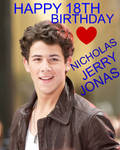 Happy 18th Birthday Nick