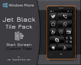 Jet Black Tile Pack by SkywardArts