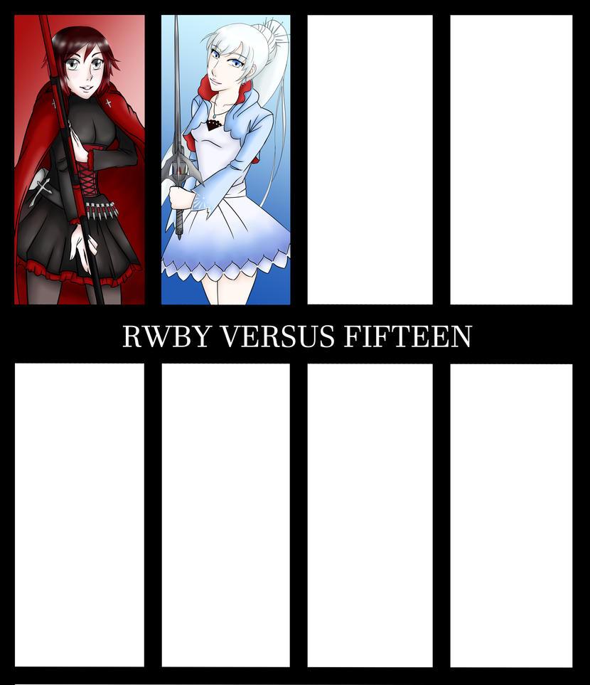 Rwby Versus Fifteen: Weiss by nikkaSkye