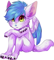 commission: CattyAngel by Dokuseishi