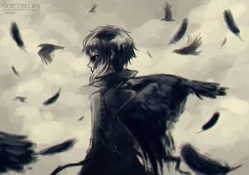 GORETOBER #14: crows