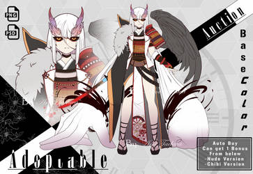 [Closed]Adoptable No.35 Base color-Line Art by AroiTaehwa