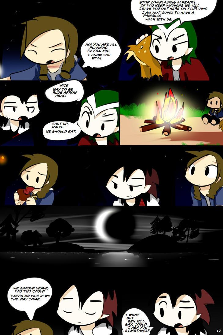 Prince Darkcola Volume 1 page 17 by ShadowtailsDerol
