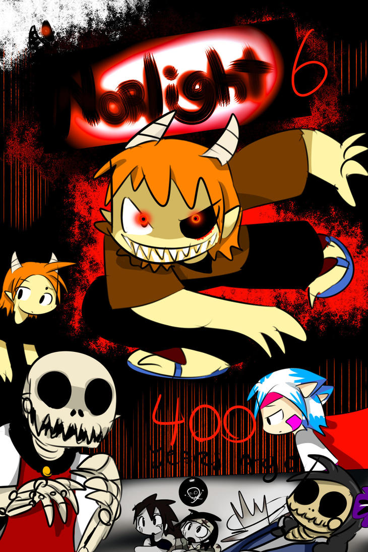 Norlight Volume 6 cover by ShadowtailsDerol