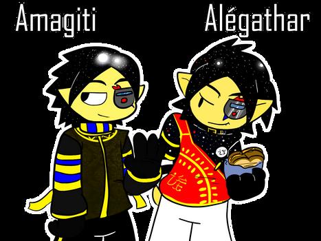 Amagiti and Alegathar