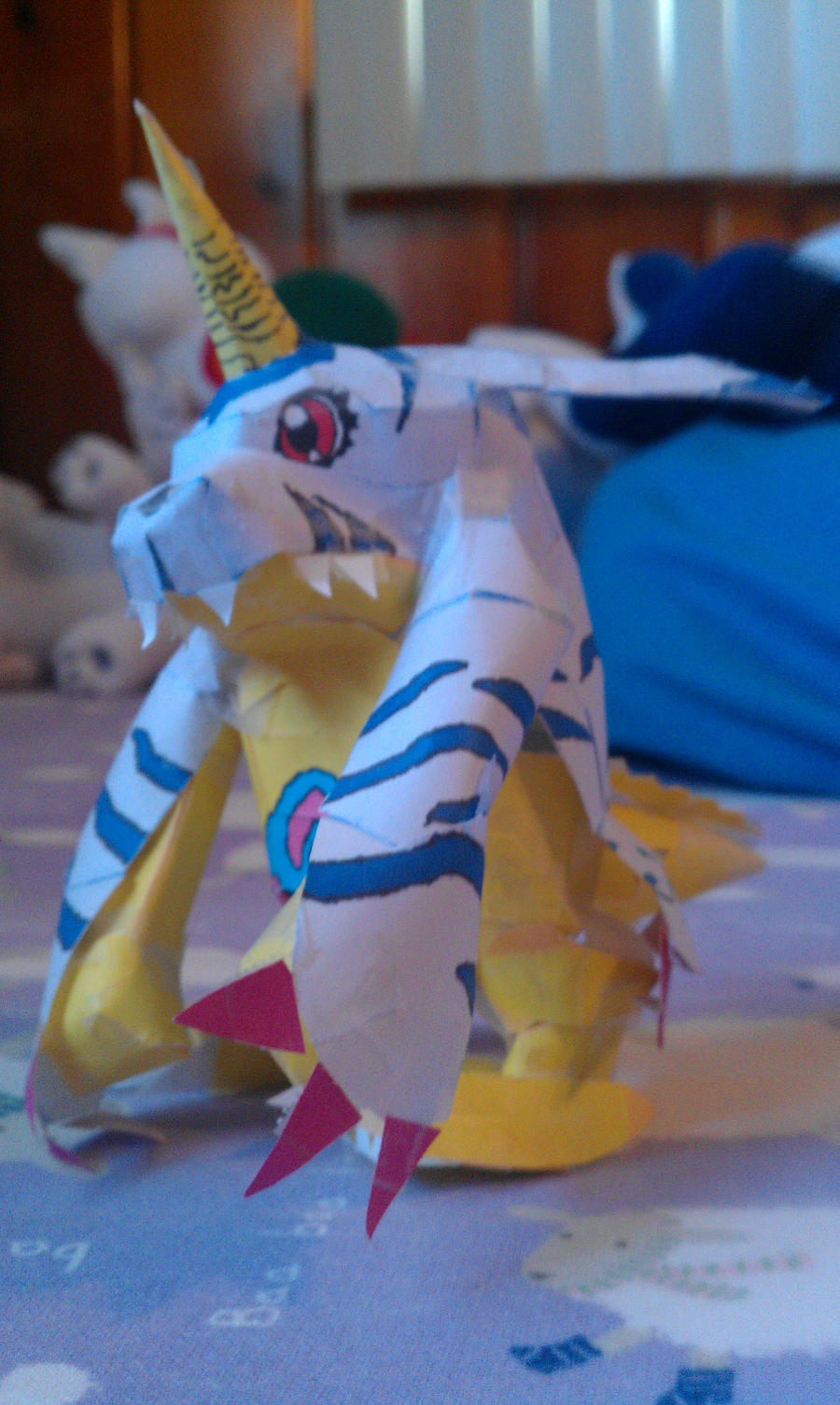 Gabumon Papercraft by Horsegirl71496