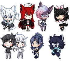 Tiny Chibis of Everything