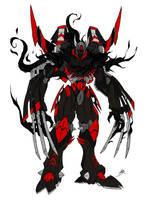 Rodimus: Decepticon Version by KaiaCelRau