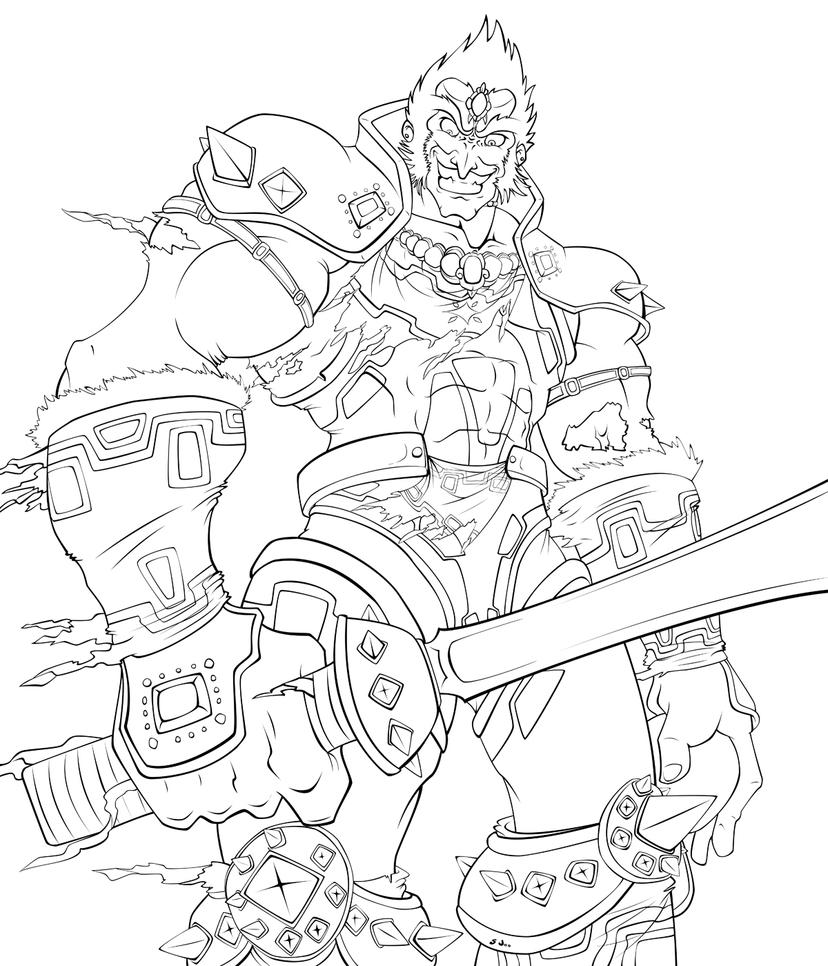 ganondorf coloring pages - photo#4
