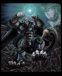 Dragonball Z AU - Oozaru Cell