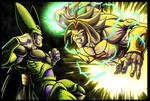Broly v Cell