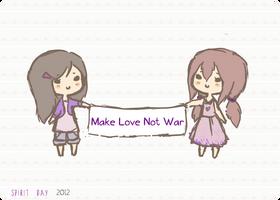 Make Love Not War by Aquilonn