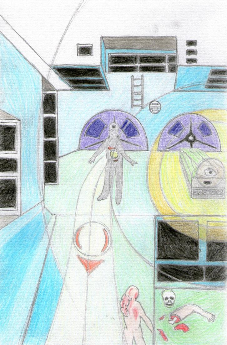 System Shock (2) by triangledew
