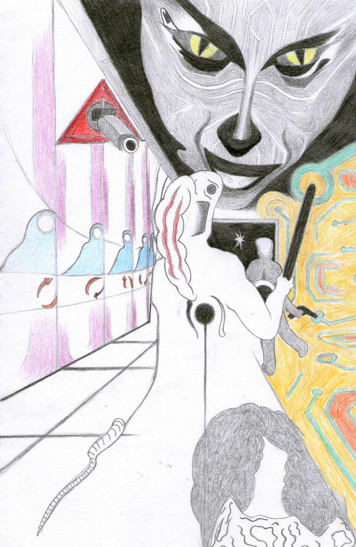 System Shock (4) by triangledew