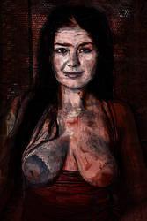 Portrait of Barbara Ann Magus by OttoMagusDigitalArt