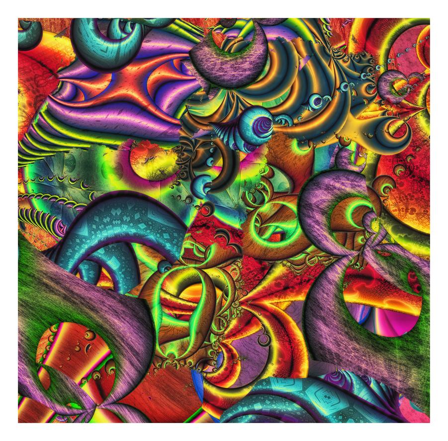 Geezarota (Some Juicy Chaos) by OttoMagusDigitalArt