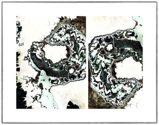 Diptych, No Title 3 by OttoMagusDigitalArt