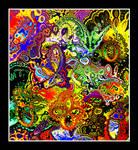 Acid Punk Butterfly