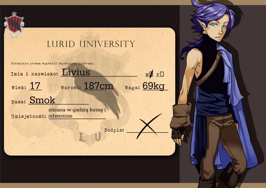 :LU: Livius by DixFirebone