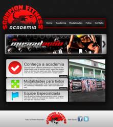 Scorpion Fitness Website by zKappa