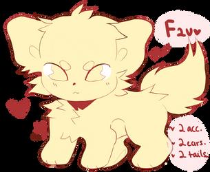 F2U Base . Chibi pup by soft-toy