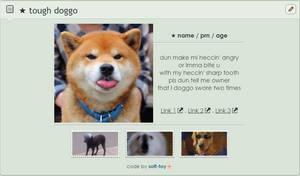 F2U NON-CORE CODE : tough doggo