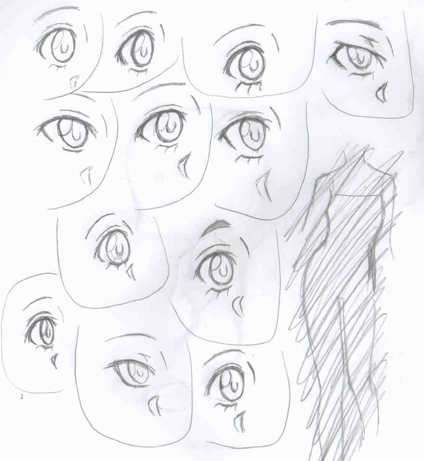 Eye designs by blairthewitchcat