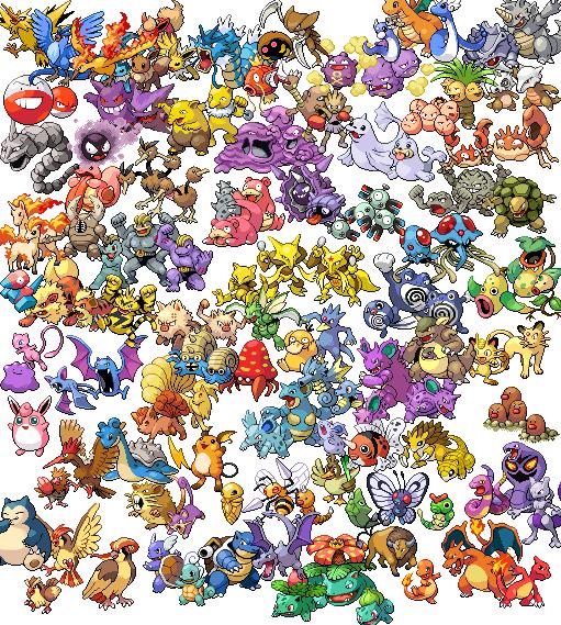 original 151 pokemon wallpaperOriginal Pokemon Wallpaper