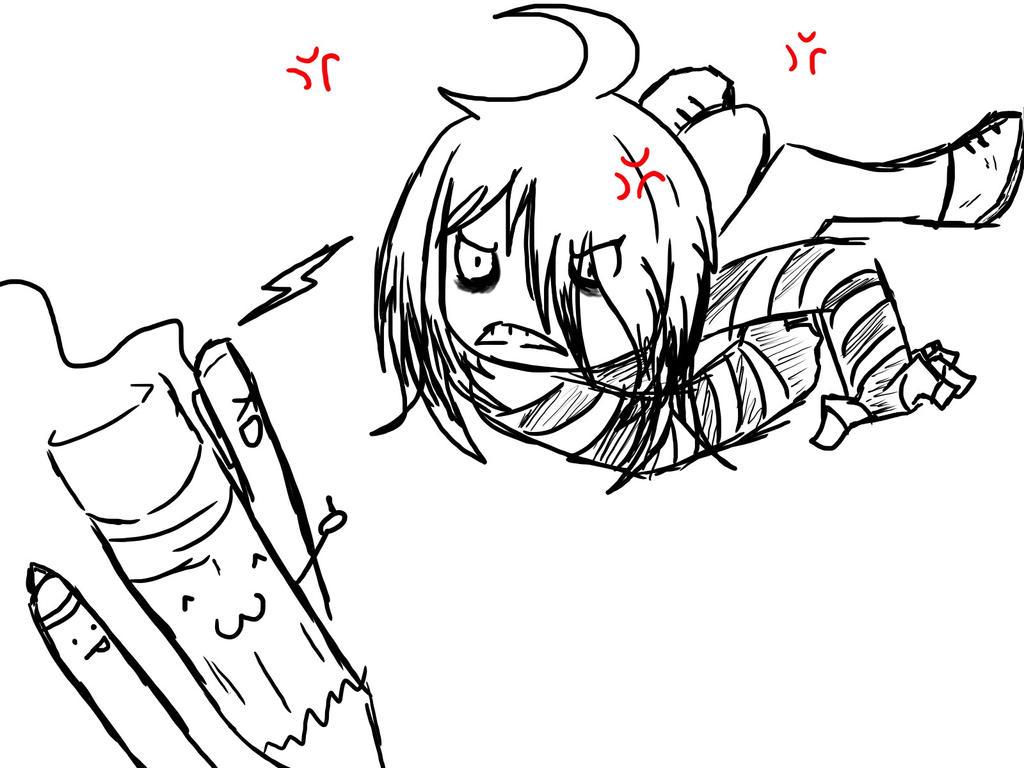 Drawing block for me by MistytheRandomFreak
