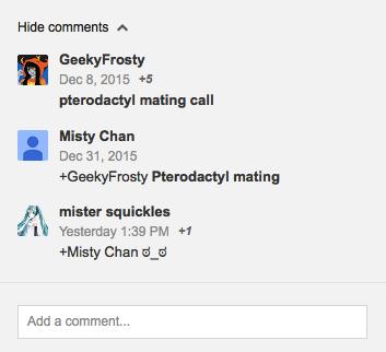 Oh, Youtube Comments by MistytheRandomFreak