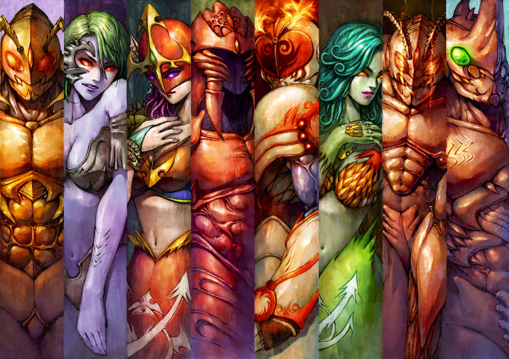 favorite character by maskedriderkc