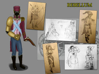 Rebellum characters concept