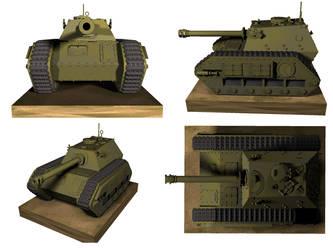 Fedya tank destroyer