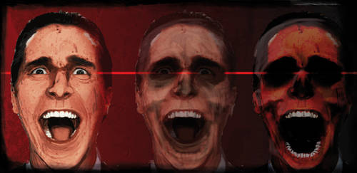 american psycho by ckoehn