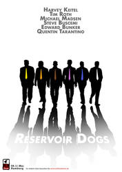 poster 2 reservoir dogs by ckoehn