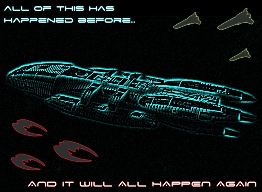Battlestar Galactica Wallpaper By FalkenCS4